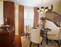 Home Interior: Dining Room Stock Image