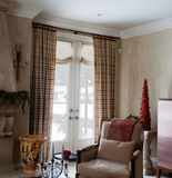 Home Interior: Drapes Stock Photos