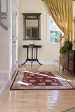 Home Interior Front Foyer. In warm tones Stock Photo