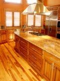Home Interior Kitchen royalty free stock images