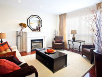 Home Interior: Living Room Stock Photo