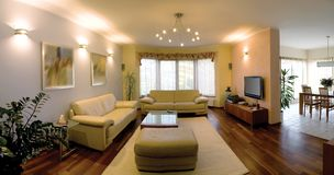 home interior modern Στοκ εικόνες με δικαίωμα ελεύθερης χρήσης