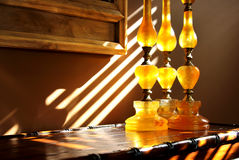 Home Interior  in morning sun light Royalty Free Stock Image