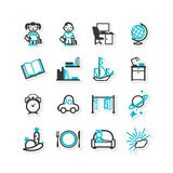 Home interior, nursery, children Royalty Free Stock Images