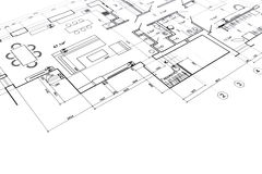 Home interior project Royalty Free Stock Photo