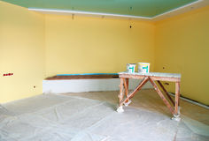 Home interior renovation Royalty Free Stock Photos