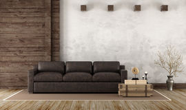 Home interior in rustic style Royalty Free Stock Photo