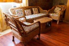 Home interior, sofa furniture Royalty Free Stock Image