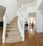 Home interior, staircase Royalty Free Stock Image