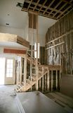 Home interior under construction Royalty Free Stock Photography