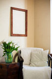 Home interior, vintage chair Stock Image