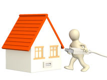 Home Internet Stock Photo