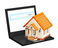 Home Internet Stock Images