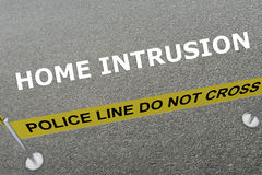 Home Intrusion concept Stock Photography