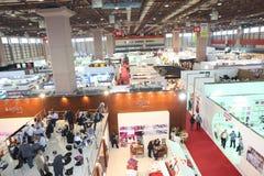 home istanbul för utställning textilar Royaltyfria Bilder