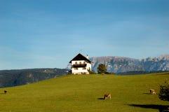 home italy maddalena tyrolean santa Royaltyfri Fotografi