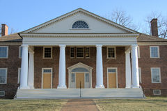 Home of James Madison. The fourth President of the United States royalty free stock photo