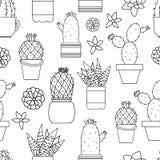 Home jungle pattern vector illustration