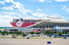 Home of the Kansas City Chiefs Royalty Free Stock Photography
