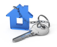Home key. On white background Royalty Free Stock Photography