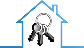 Home key Stock Image