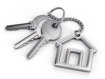 Home key Stock Photography