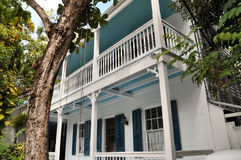 Home in Key West FLorida. Image of a residence in Key West Florida Stock Images