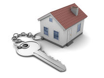 Home keychain Royalty Free Stock Images