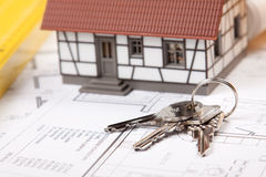 Home Keys Royalty Free Stock Images