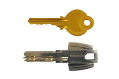 Home keys isolated on white Stock Images