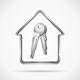 Home Keys Royalty Free Stock Photos