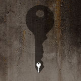 Home keys and shadow Royalty Free Stock Photos