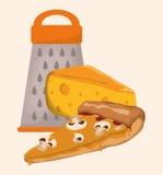 Home Kitchen icons design Royalty Free Stock Photo