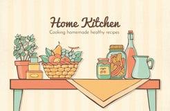 Home kitchen Stock Photos