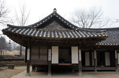 home koreanskt gammalt Arkivfoto