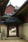 home koreanskt traditionellt Arkivfoto