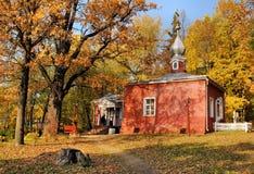 Home kyrka Arkivbilder