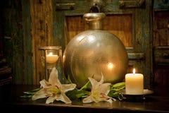 home lantliga inställningswares för balinese Royaltyfria Bilder