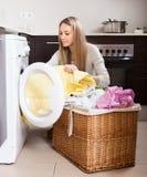 Home laundry Stock Photo