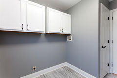 Home Laundry Room Interior Royalty Free Stock Photo