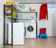 Home Laundry Room Stock Images