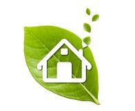 Home in leaf Royalty Free Stock Image