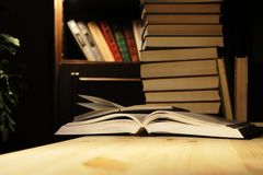 Home Library Stock Images