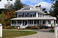 HOME lindo de Nova Inglaterra Imagem de Stock Royalty Free