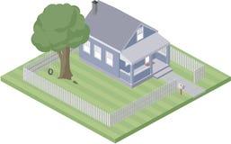 home litet stock illustrationer