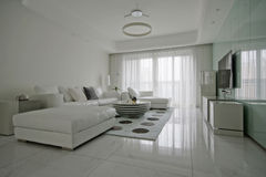 Home Living Room Stock Image