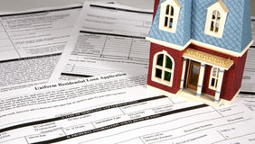 Home Loan stock photography