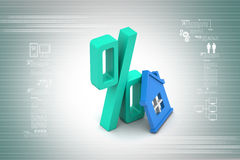 Home loan concept Stock Image