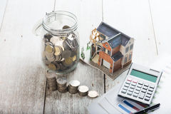 Home loan concept photo Stock Image