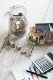 Home loan concept photo Stock Images
